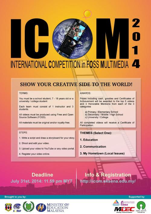 ICOM 2014 Promotional Poster